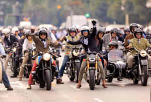 Motorcycles & Mustaches - Riding Dapper for a Cause